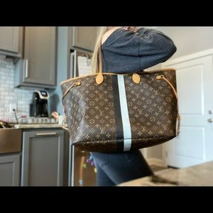 My LV Heritage Neverfull GM